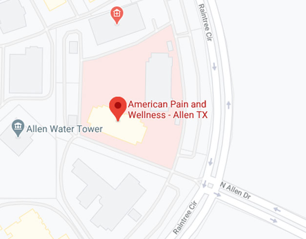 Directions from your location to American Pain and Wellness in Allen, TX